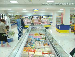 Торговый зал супермаркета «Столичный»